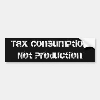 Consumo não Production™ do imposto Adesivo Para Carro
