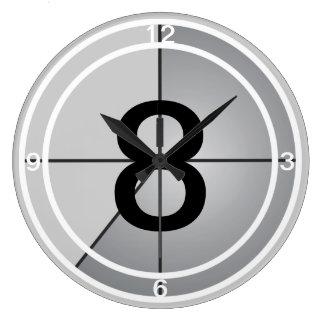 Contagem regressiva do filme relógios para pendurar