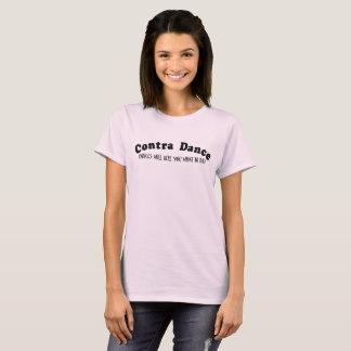 Contra vozes da dança camisetas
