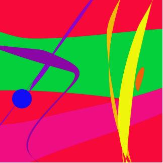 Contraste vermelho e verde do teste padrão abstrat