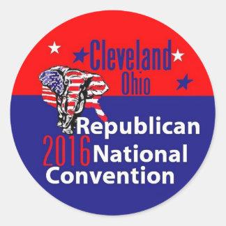 Convenção 2016 do republicano adesivo