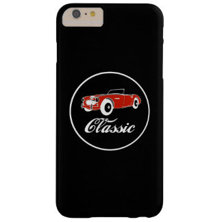 Convertible retro clássico SportsCar do vintage do Capas iPhone 6 Plus Barely There
