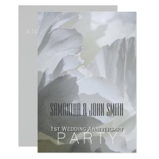 Convite 1 da festa de aniversário do casamento da