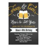 Convite 30o 40th etc. do aniversário das cervejas