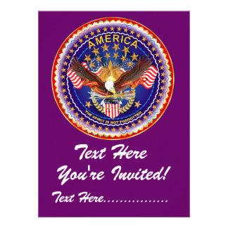 Convite 5 5 X 7 5 América não esquecida…