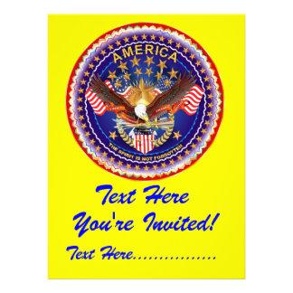 Convite 6 5 x 8 75 América não esquecida…