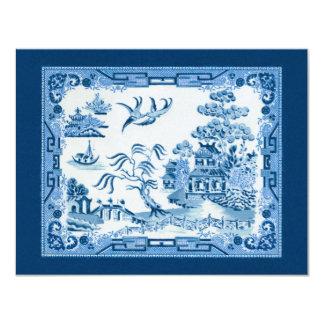 Convite azul do salgueiro