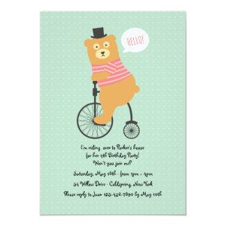 Convite Biking do urso