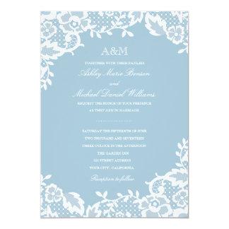 Convite clássico do casamento do laço