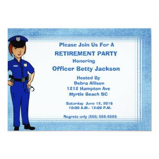 Convite da aposentadoria da senhora agente da