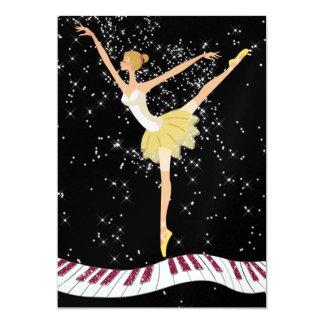 Convite da bailarina por SRF