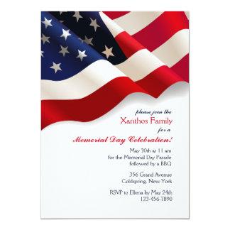 Convite da bandeira americana