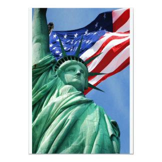 Convite da estátua da liberdade