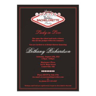 Convite da festa de solteira de Las Vegas