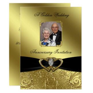 Convite da foto do aniversário de casamento