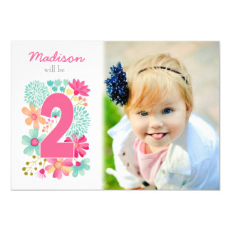Convites de Aniversários com Foto na Zazzle