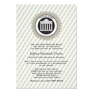 Convite da graduação da Faculdade de Medicina