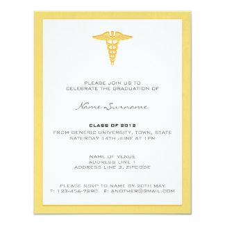Convite da graduação da Faculdade de Medicina -