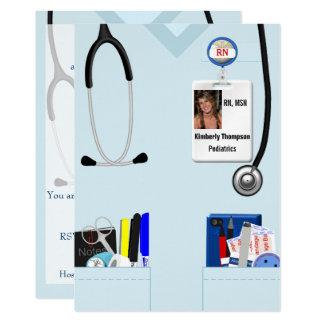 Convite da graduação dos cuidados