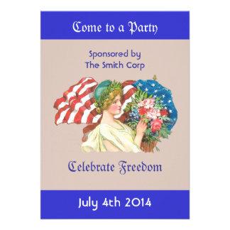 convite da liberdade da senhora