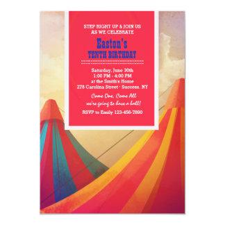 Convite das barracas do carnaval