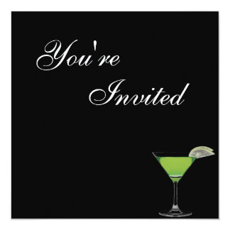 Convite de aniversário de Mocktail