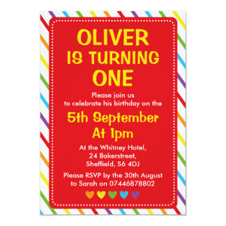 Convite de aniversário dos meninos