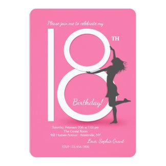 Convite de aniversário finalmente 18