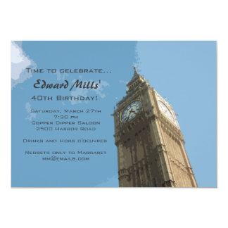 Convite de Big Ben