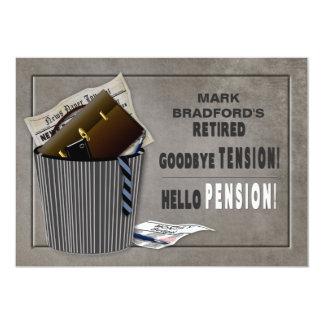 Convite de festas da aposentadoria - Tensão-Pensão