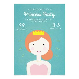 Convite de festas da princesa Partido Criança