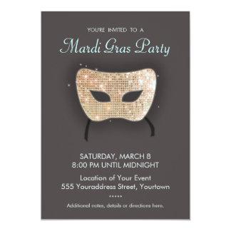 Convite de festas do carnaval