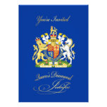 Convite de festas do jubileu de diamante da rainha