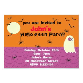 Convite de festas engraçado do Dia das Bruxas do