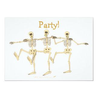 Convite de festas engraçado do Dia das Bruxas dos
