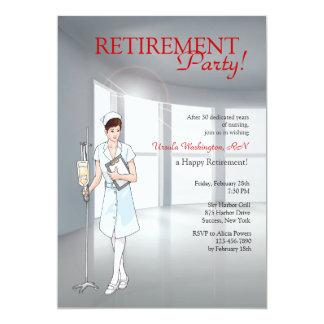 Convite de festas especial da aposentadoria da