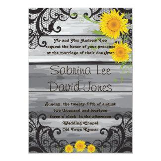 Convite de madeira do casamento da coleção do