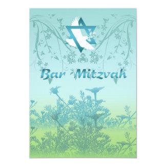 Convite de Mitzvah do bar para a cerimónia
