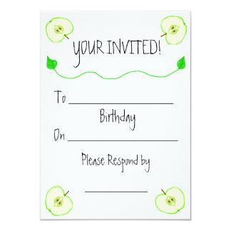 Convite do aniversário de Apple