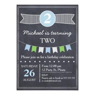 Convite do aniversário do quadro dos meninos