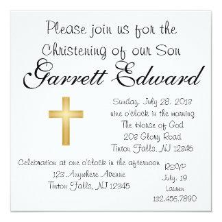 Convite do batismo
