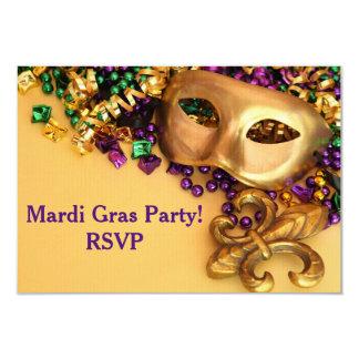 Convite do carnaval da máscara do mascarada do