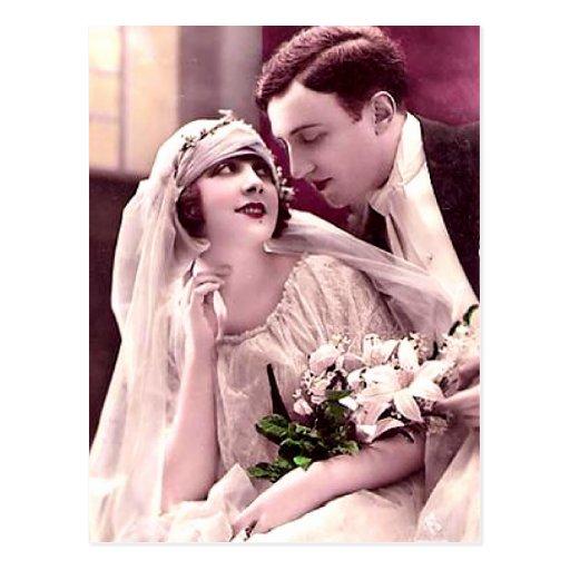 convite do casamento do orçamento cartao postal