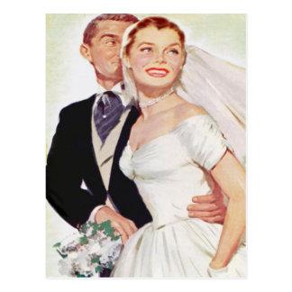 convite do casamento do orçamento cartão postal