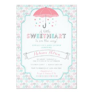 Convite do chá de fraldas do querido dos namorados