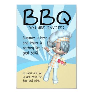 Convite do CHURRASCO - cozinheiro chefe - você é