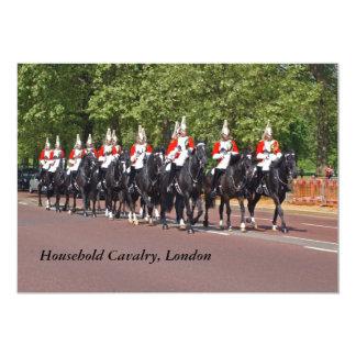 Convite do costume de Horseguards