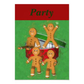 Convite do feriado do Natal dos homens de