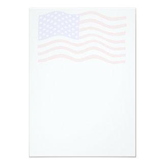 Convite do fundo da bandeira americana