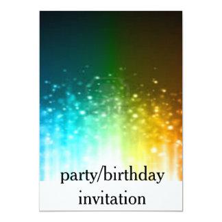 convite do partido/aniversário